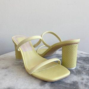 NEW Dolce Vita Noles Sandals in Lemon